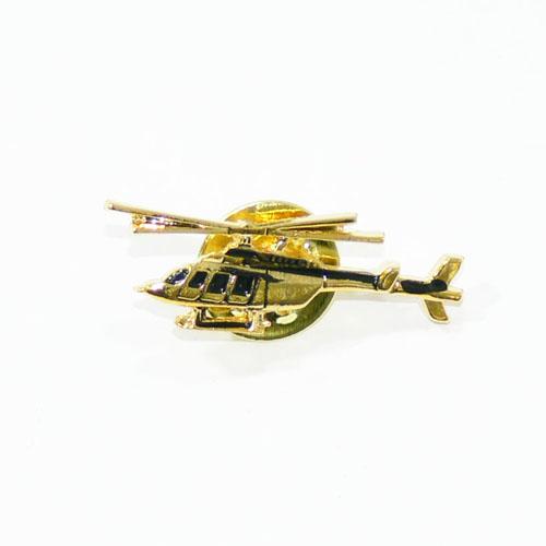 大人気ヘリコプター型ピン