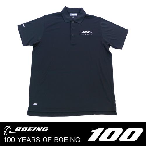BOEING 100周年記念 ポロシャツ
