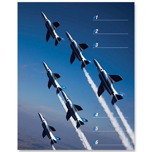 航空自衛隊ブルーインパルスカレンダー2017