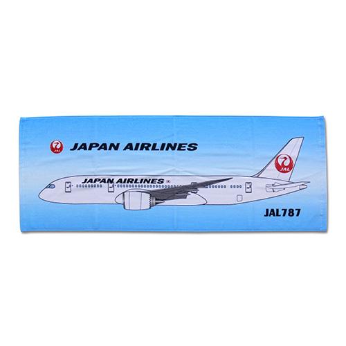 JAL鶴丸スポーツタオル