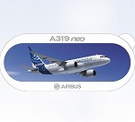 AIRBUS A319 Neo ステッカー
