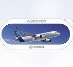 AIRBUS A320 Neo ステッカー