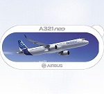AIRBUS A321 Neo ステッカー